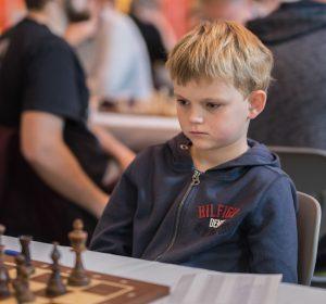 Hugo Wernberg spelade i huvudtävlingen