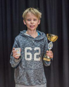 Joar Östlund kom tvåa i klass F