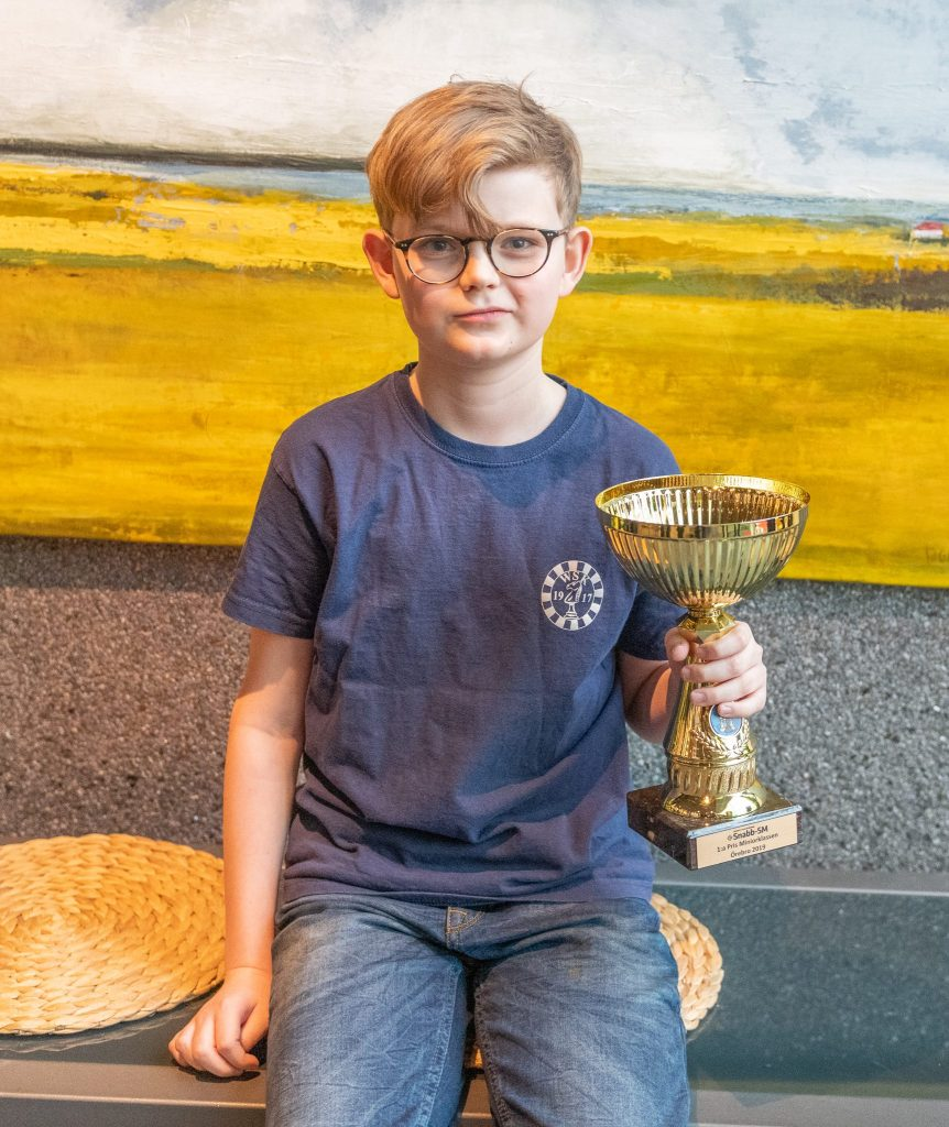 Hugo vann snabbschack-SM